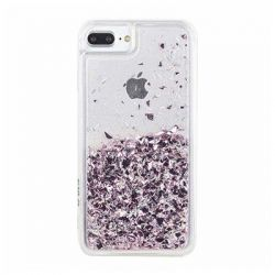 CYLO - Light Pink Liquid Glitter iPhone 6/7/8 Case