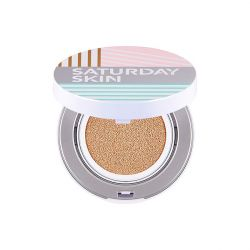 Saturday Skin - All Aglow Sunscreen Perfecting Cushion Compact SPF 50 - Goldie