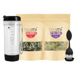 Teami - Detox Wellness Pack with Black Tumbler and Infuser