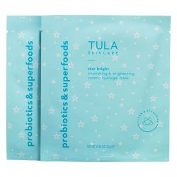 Tula Skincare - Star Bright Nourishing & Brightening Cosmic Hydrogel Mask - Set of 2