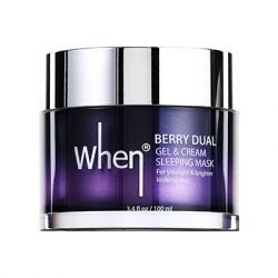WHEN Beauty - Berry Dual Gel & Cream Anti-aging Sleeping Mask