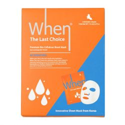 WHEN Beauty - The Last Choice Bio-Cellulose Sheet Mask Pack (Set of 5)