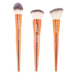 Alamar Cosmetics - Complexion Brush Trio - Rose Gold