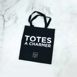 BOXYCHARM - Totes a Charmer - Black Canvas Tote