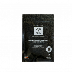Dermovia - Lace A Peel Black Bamboo Charcoal Peel Off Mask