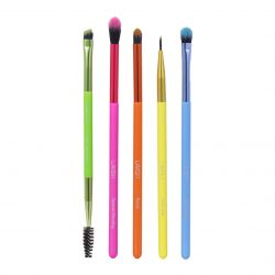 Lavish - 5 PC Neon Eye Brush Collection