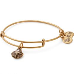 Alex & Ani - Sea Shell Charm Bangle