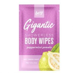 Busy Beauty - Gigantic Showerless Body Wipes - 8 pack