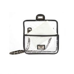 The Casery - No Secrets Clear Bag - Clear