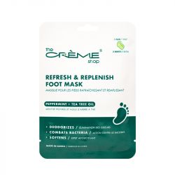The Crème Shop - Refresh & Replenish Foot Mask