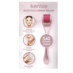 Kensie Beauty - Blush Chrome Derma Roller - Blush