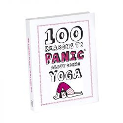 Knock Knock - Book: 100 Reasons to Panic® About Yoga
