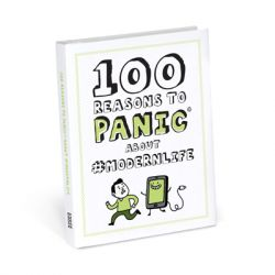 Knock Knock - Book: 100 Reasons To Panic About #modernlife