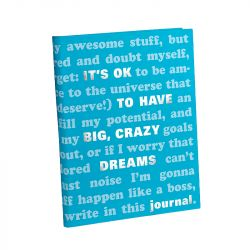Knock Knock - It's OK to Have Big, Crazy Dreams Journal