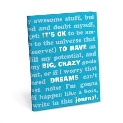 Knock Knock - It's OK Journal: Big Dreams