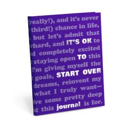 Knock Knock - It's OK Journal: Start Over