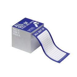 Knock Knock - All Out Of® Sticky Roll Notes