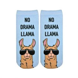 Living Royal - No Drama Llama Ankle Socks