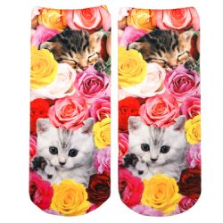 Living Royal - Kitty Garden Ankle Socks