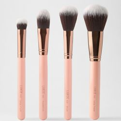 LUXIE - FACE COMPLEXION BRUSH SET - Rose Gold