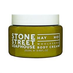 STONE STREET SOAPHOUSE - Hay Ho! Body Cream - 250 ml/ 8.46 fl oz