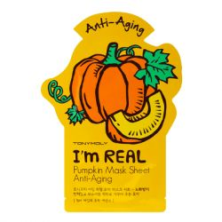 Tony Moly - I'm Real Sheet Mask (Set of 2) - Pumpkin