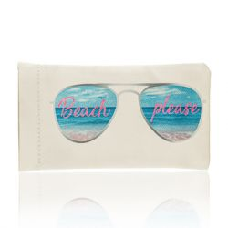 ZAXIE by Stefanie Taylor - Beach Please Sunglass Case