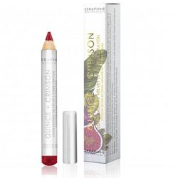 Seraphine Botanicals - Quince + Crimson - Long-Lasting Velvet Lip - Cheek Crayon
