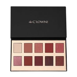 Crown Brush - 10 Shade Eyeshadow Palette - Fuego
