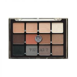 VISEART - Neutral Mattes 01 12 Pan Eyeshadow Palette
