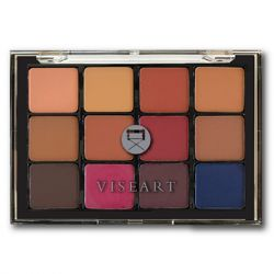 VISEART - Neutral Mattes Milieu 14 12 Pan Eyeshadow Palette