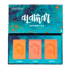 Alamar Cosmetics - Colorete Blush Trio - Fair/Light