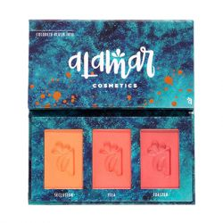 Alamar Cosmetics - Colorete Blush Trio - Medium/Tan