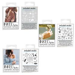 INKED by Dani - Temporary Tattoo Bundle - White-Out, Dani's Picks & Inspired Pack