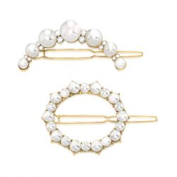 ZAXIE by Stefanie Taylor - All Dolled Up Pearl Barrette Set