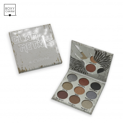 Crown Pro - 9 Color Glam Metals Eyeshadow Palette